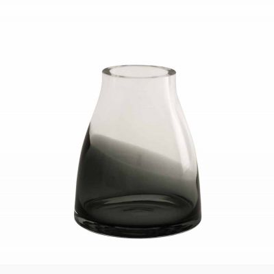 FLOWER VASE N2 SMOKED GREY - RO DESIGN