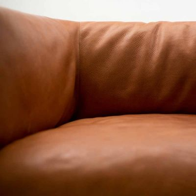 RONDO 3 MAX LEATHER SOFA - MOLINARI LIVING