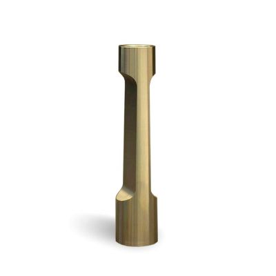 INDUSTRY SMALL BRASS CANDLE HOLDER - MATTHEW HILTON