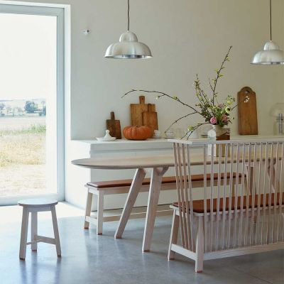 TOGETHER FIXED DINING TABLE - STUDIOILSE