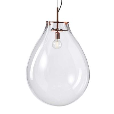 TIM GLASS PENDANT LIGHT - BOMMA