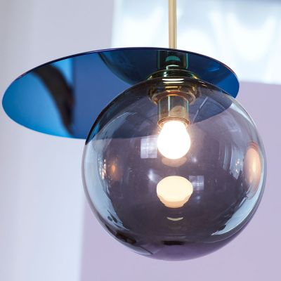 EX DISPLAY UMBRA PENDANT LIGHT - SMOKE