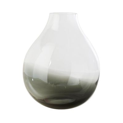 FLOWER VASE N24 SMOKED GREY - RO COLLECTION