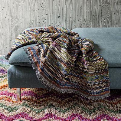 VENERE 164 THROW AND CUSHION - MISSONI HOME