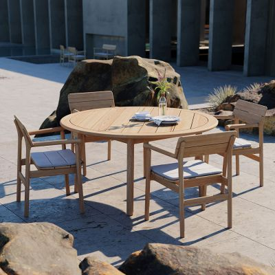 TANSO OUTDOOR ROUND TABLE - CASE FURNITURE