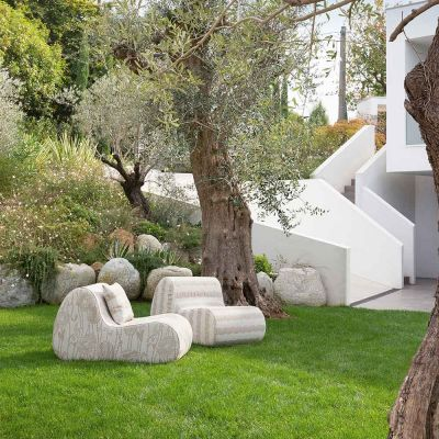 VIRGOLA OUTDOOR ARMCHAIR - MISSONI HOME