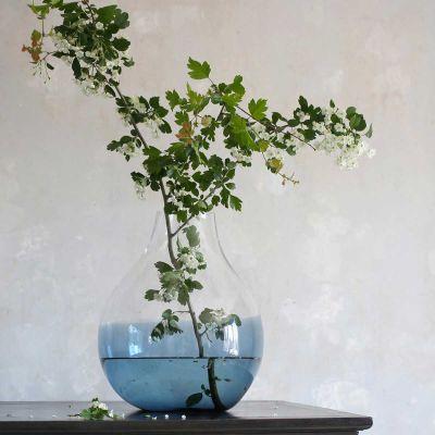 FLOWER VASE N24 INDIGO BLUE - RO COLLECTION