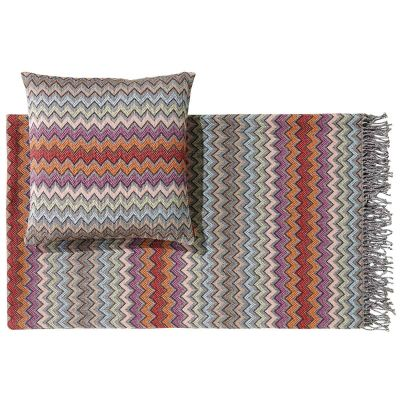 WILLIAM 159 THROW AND CUSHION - MISSONI HOME