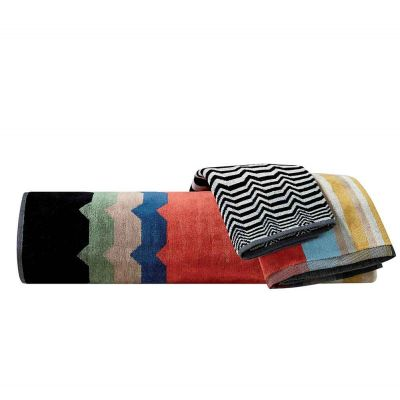 WOLF 100 TOWEL - MISSONI HOME