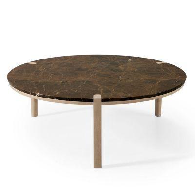 CORNER ROUND COFFEE TABLE - WEWOOD