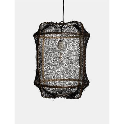 Z5 (BLACK) SISAL LAMPSHADE - AY ILLUMINATE