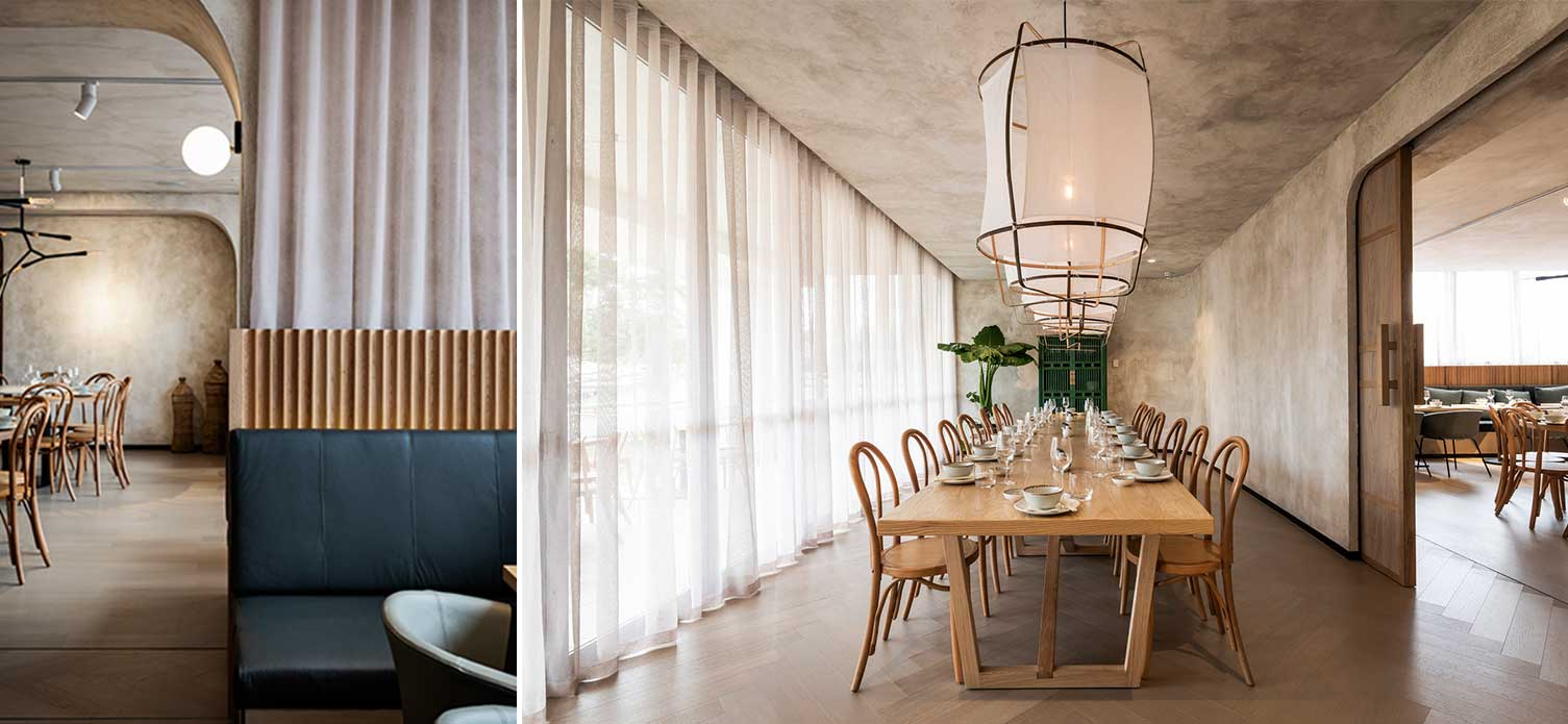 MAMA MULAN RESTAURANT By DS17 - Featuring Zs Pendant Lights by Ay Illuminate