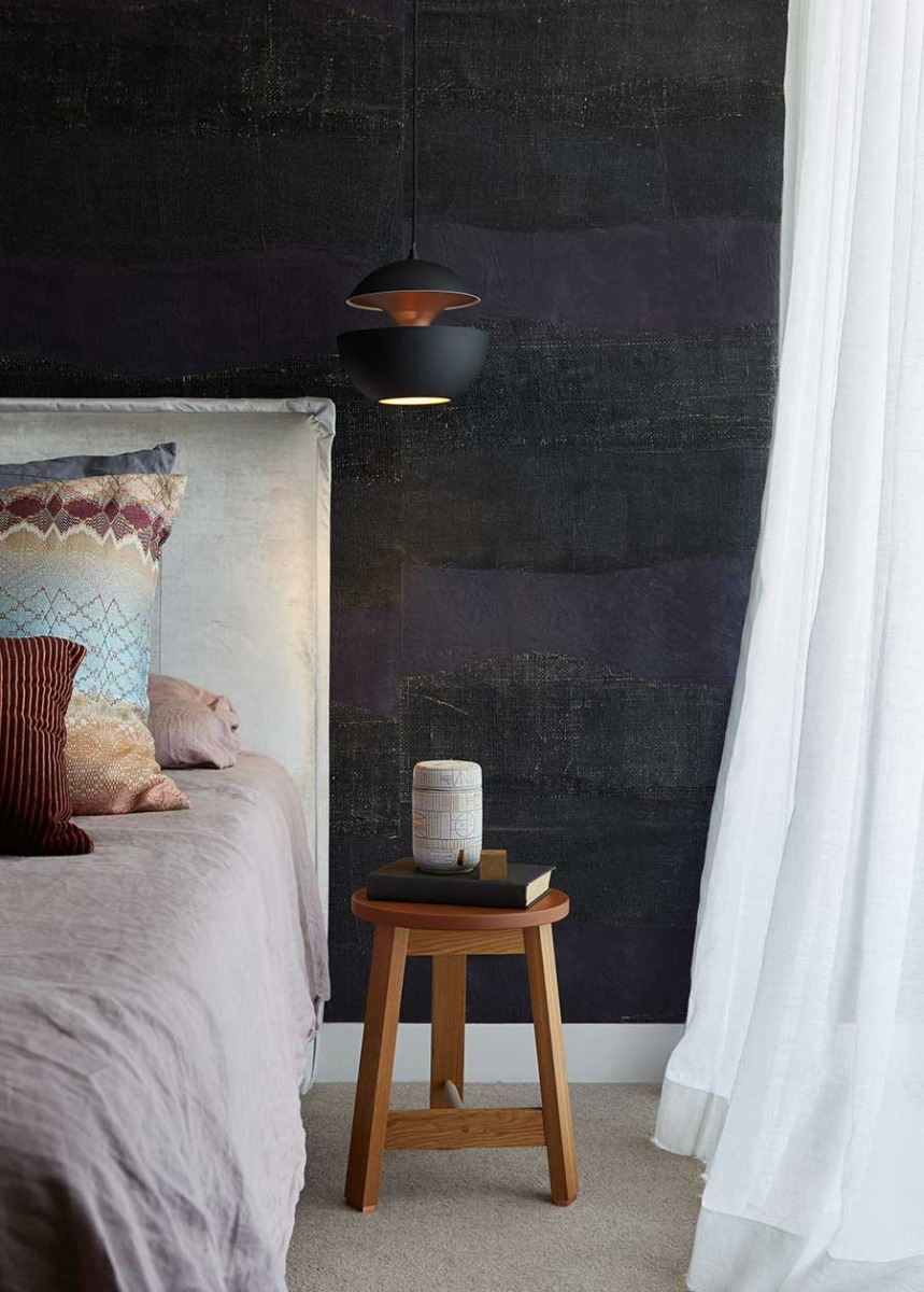 woollahra house - main bedroom detail - Photography Andres Ripamonti